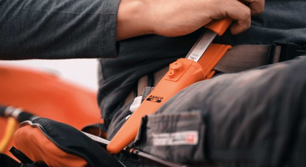 Cuchillos de campamento - Publicidad Bahco