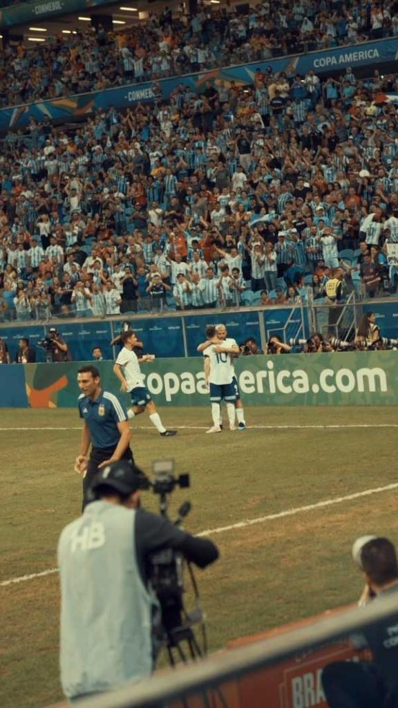 Selección Argentina vs Qatar - Copa América 2020